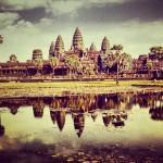 Kuuluisa Ankor Watin päätemppeli