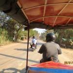 Tuktukilla pääsee!