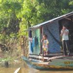 Tonle Sap kylä
