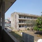 Tuol Sleng S – 21 vankilan pihaa