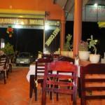 Resortin ravintolassa