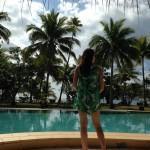 Lomani Island resortin allasalue